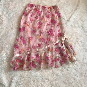Beautiful Floral Skirt